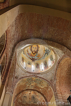 Antique church  - wall-painting