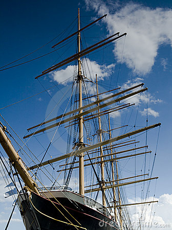 Antique Clipper Ship