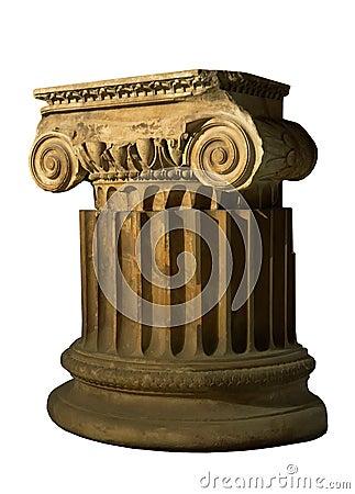 Antique column