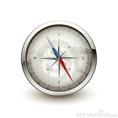 Antique Compass Stock Images - Image: 17246944