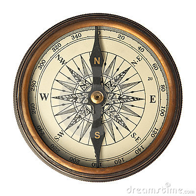 Free Antique Compass Royalty Free Stock Photos - 19084258