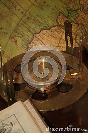 Antique compass