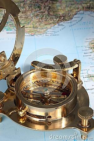 Antique compass.