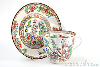 Antique Cup & Saucer