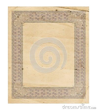 Antique Decorated Paper