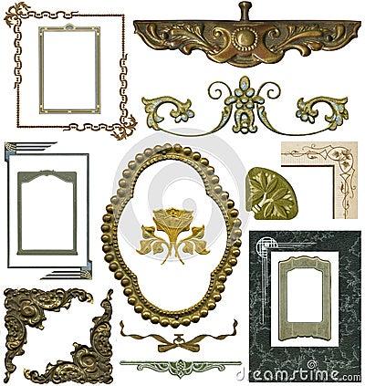 Free Antique Design Elements 2 Stock Images - 306064
