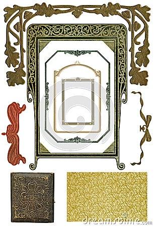 Free Antique Design Elements 4 Royalty Free Stock Image - 306066