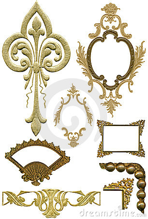 Free Antique Design Elements 5 Royalty Free Stock Images - 509359