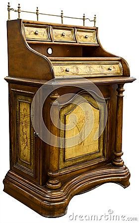 Free Antique Desk Royalty Free Stock Photo - 2427075