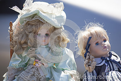 Antique dolls for nostalgia