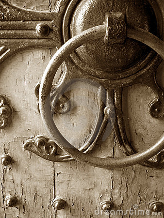 Free Antique Door Royalty Free Stock Photos - 176848