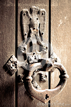 Free Antique Door Bell Royalty Free Stock Photos - 42686508