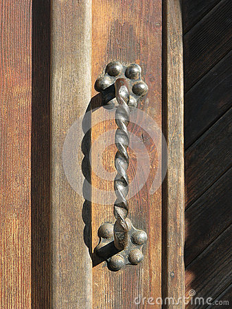 Free Antique Door Handle Stock Photo - 42101020
