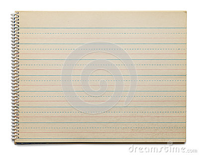 Dotted line paper