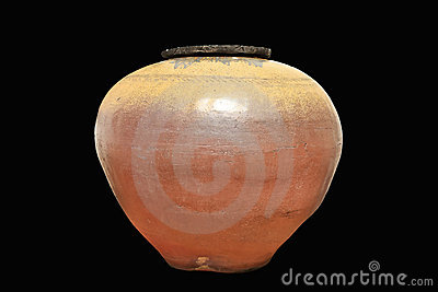 Antique earthen jar
