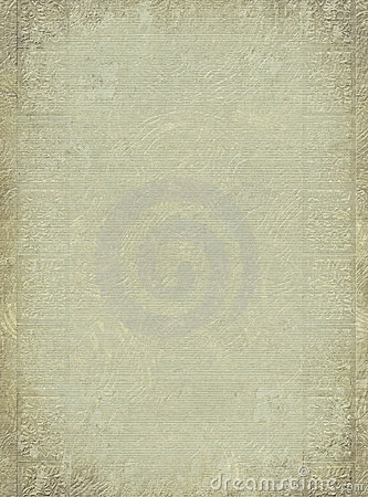 Antique embossed column print textured background