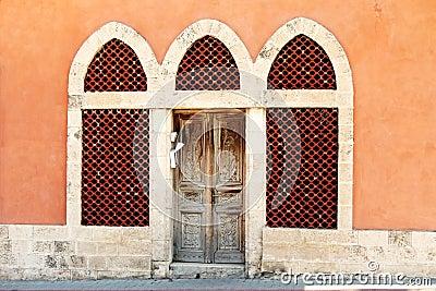 Antique entrance