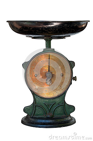Antique family scale