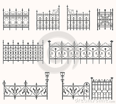 Free Antique Fences - Second Set Stock Photos - 32616033