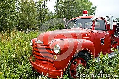 Antique Firetruck - 1