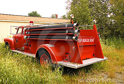 Antique Firetruck - 4