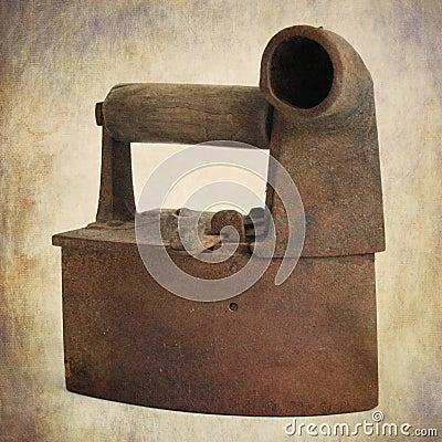 Antique flat iron