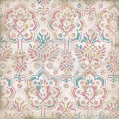 Antique Floral Background