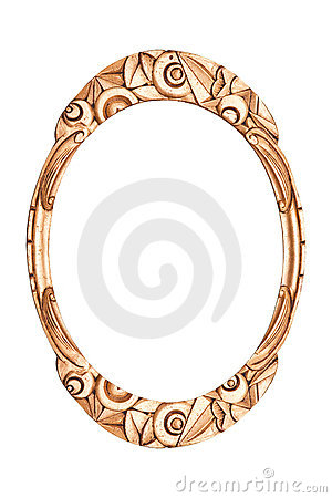 Antique frame art deco