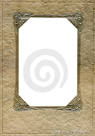 Antique frame and corners