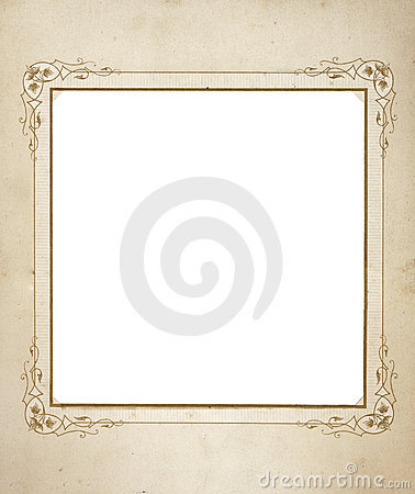 Antique frame from mid 1900 s