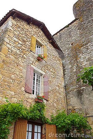 Antique French medieval house