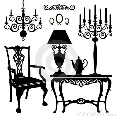 Free Antique Furniture Stock Images - 22397024