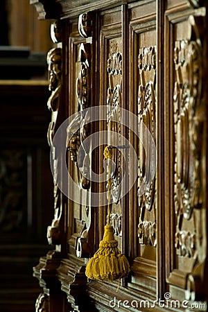 Free Antique Furniture Detail Royalty Free Stock Image - 5556406