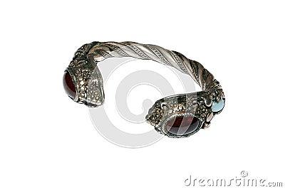 An antique Georgian wedding bracelet