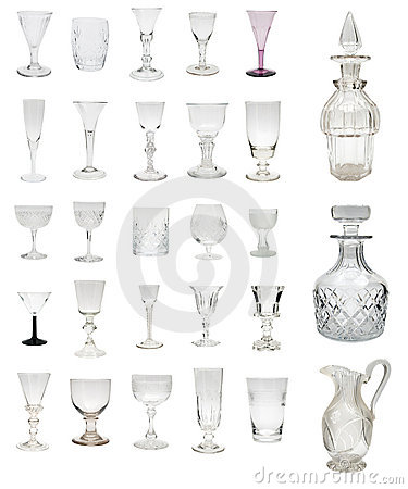 Free Antique Glass Montage Royalty Free Stock Photo - 4933325