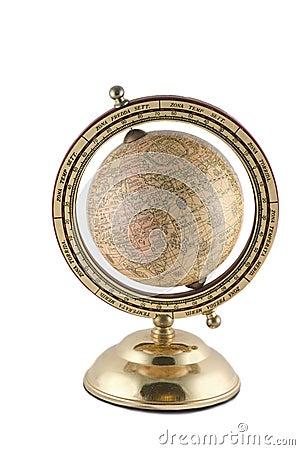 Antique globus