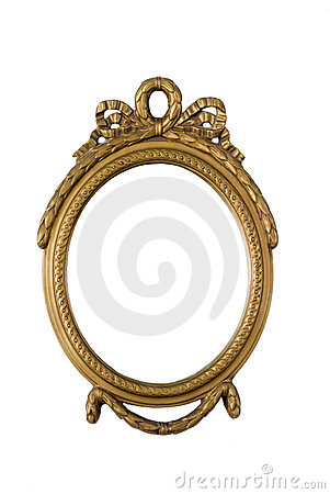Free Antique Golden Frame Royalty Free Stock Images - 3180049