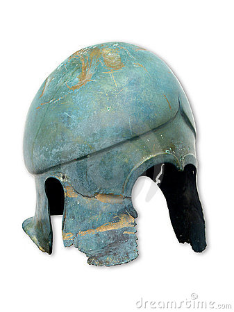 Antique helm