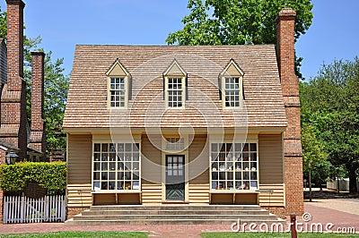 Antique House in Williamsburg