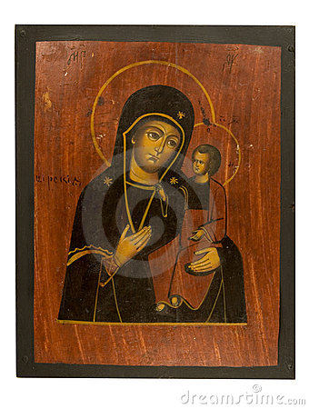 Antique icon