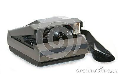 Antique instant film camera
