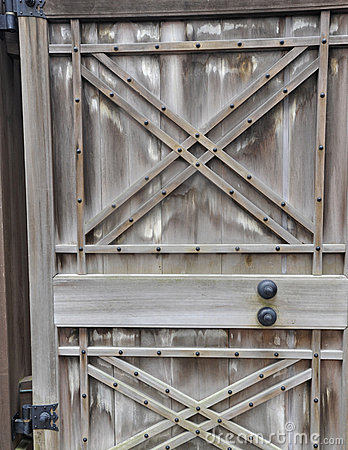 Antique Japanese door, Imperial Palace, Kyoto