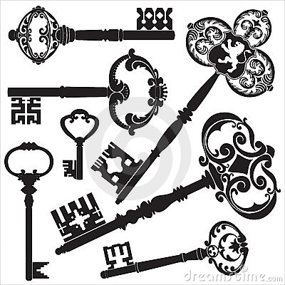 Antique Keys Stock Image - Image: 14868131