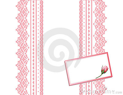 Antique Lace Present, Gift Card