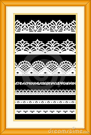 Free Antique Lace Sampler Royalty Free Stock Photography - 4134687