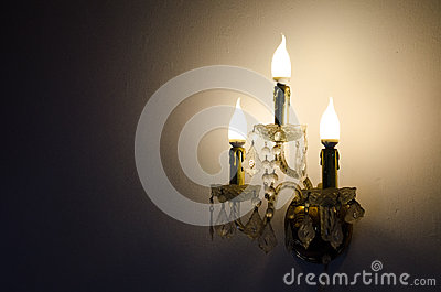 Antique Lamp Stock Image - Image: 25703551