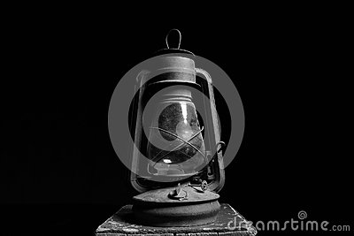 Antique lamp, end of the world,