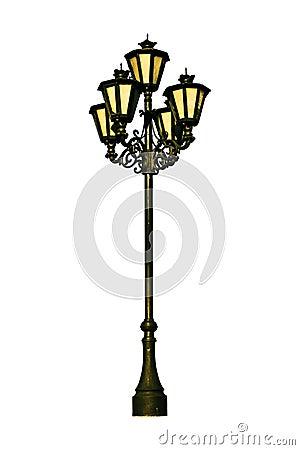 Free Antique Lamp Post Stock Photo - 3308370