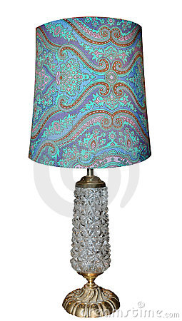Free Antique Lamp With Glass Base Royalty Free Stock Photo - 13082755