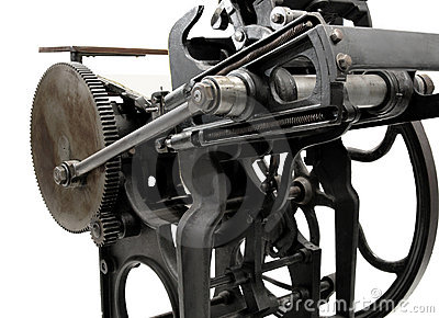 Antique letterpress